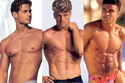 1990s International Male & Undergear Models